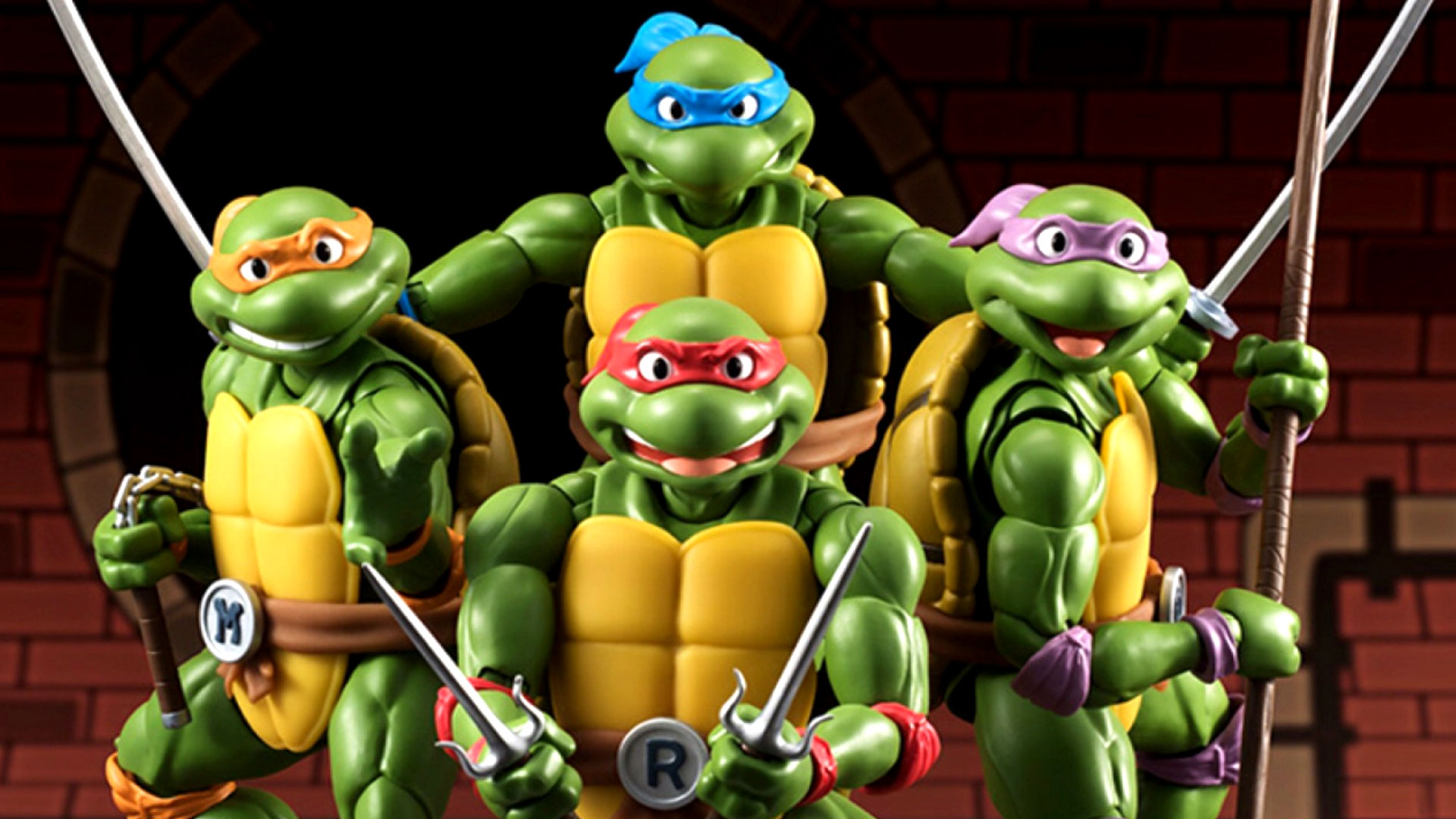 These Japanese Ninja Turtles Figures are AWESOME