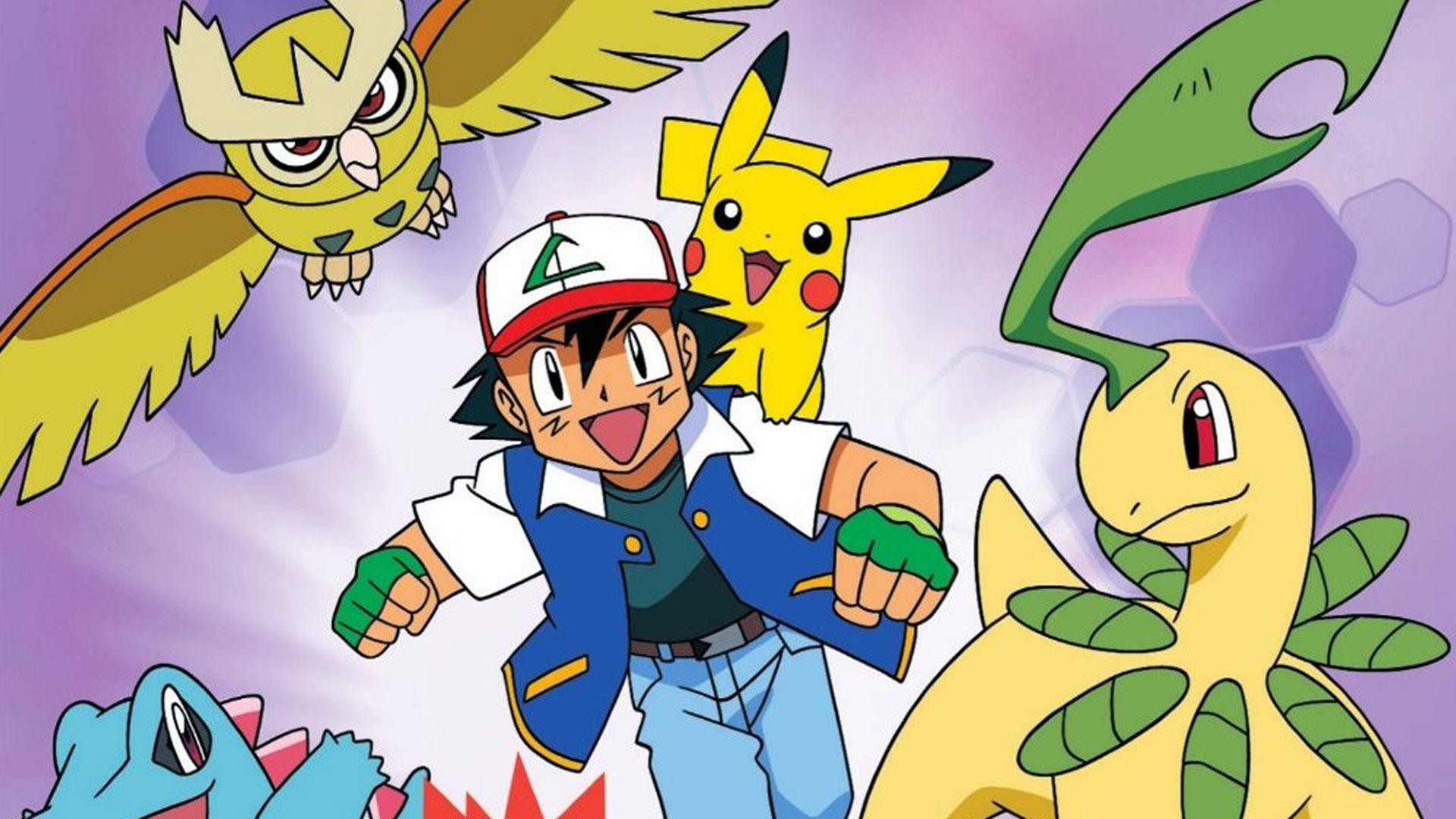 Pokemon Johto League Champions DVD Review